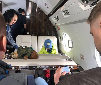 6-letni Filip wylądował w Bostonie. Mariusz Błaszczak: trzymamy kciuki