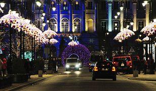 Ostatnie dni ze świąteczną iluminacją
