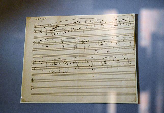 Manuskrypt fragmentu ballady g-moll Chopina trafił do Warszawy!