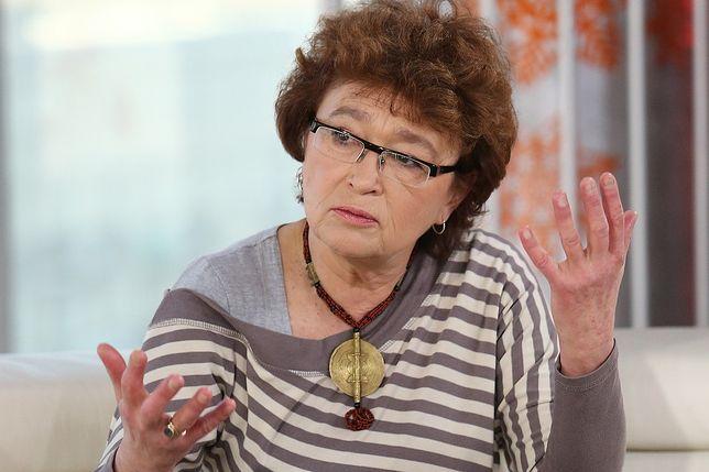 Dorota Sumińska jak Kinga Rusin. Ma tylko jedno do powiedzenia myśliwym