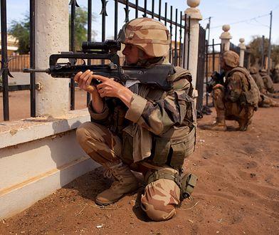 Żołnierze francuscy podczas walk z islamistami w Mali