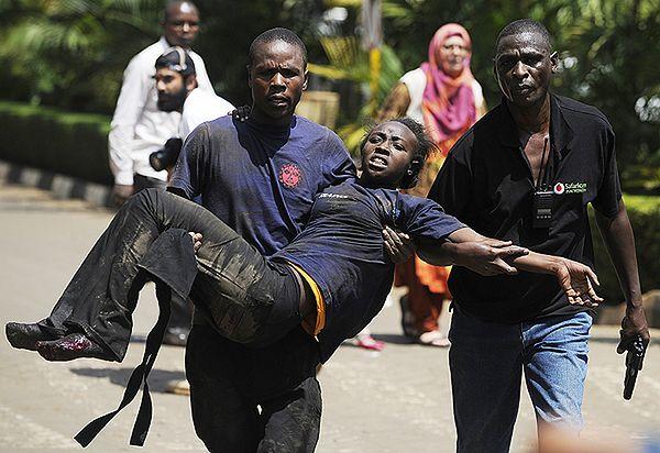 Strzelanina w centrum handlowym w Kenii