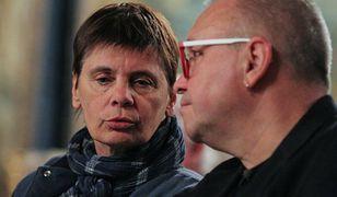 Janina Ochojska i Jerzy Owsiak w 2014 r.