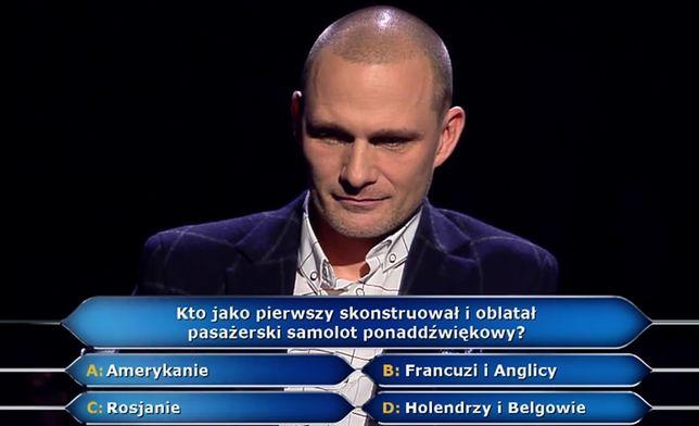 Wojciech, uczestnik show, zaliczył bolesną porażkę