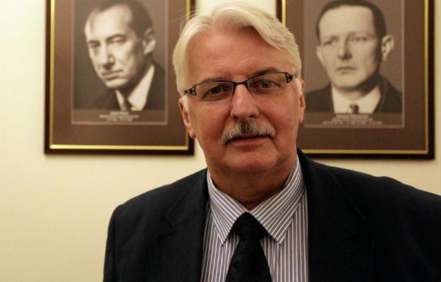 """Witold Waszczykowski: zachowanie Rosji to """"konfrontacja wobec całego NATO"""""""