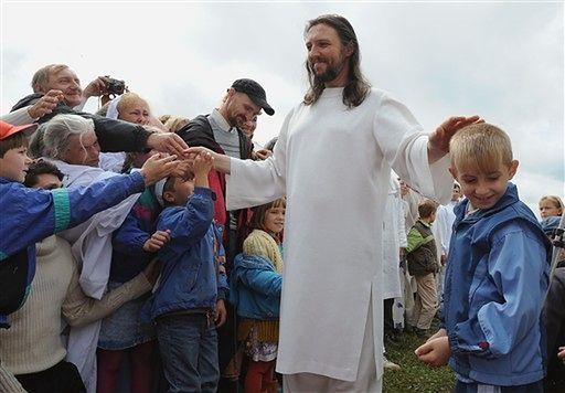Twierdzi, że jest Jezusem