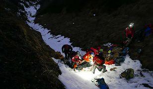 Ratownicy TOPR apelują o ostrożność - skały w górach są w wielu miejscach oblodzone