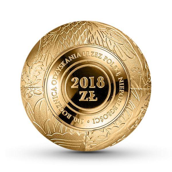 NBP wypuści pierwsze polskie monety-kule. Tak uczci 100-lecie odzyskania niepodległości