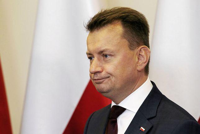 Mariusz Błaszczak odpowiada ratuszowi