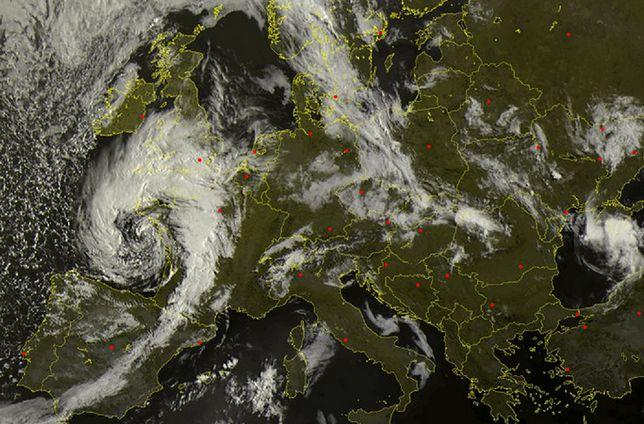 Prognoza pogody i przewidywane burze nad Polską