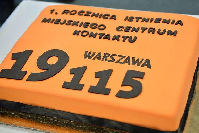 Pierwsze urodziny Miejskiego Centrum Kontaktu Warszawa 19115