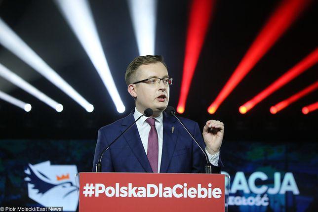 Wybory parlamentarne 2019. Konfederacja wygrała w sądzie z Wiadomościami TVP - ogłosił na Twitterze Robert Winnicki