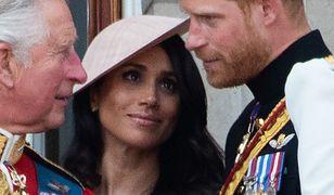 """Książę Karol przeżywa decyzję Harry'ego i Meghan. Nazwał synową """"Kardashianką"""""""
