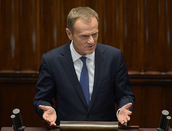 Donald Tusk: wotum zaufania da poczucie, że w Polsce jest spokojnie