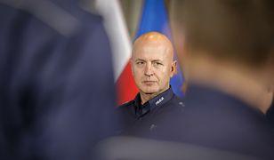 Szef polskiej policji zniknął. W jego obronie stanął jeden z ministrów