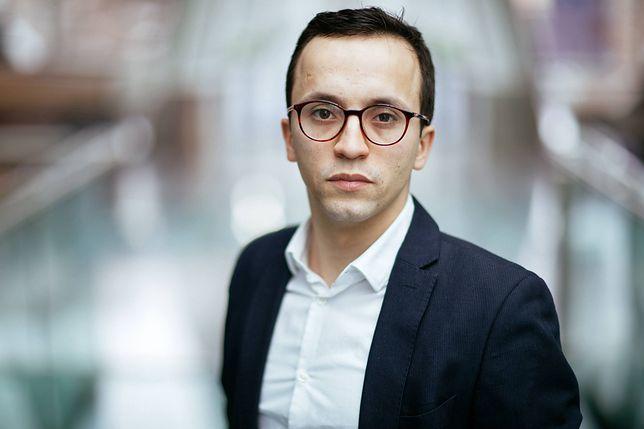 Samuel Pereira przeprasza Tomasza Grodzkiego. Powodem wpis o łapówce