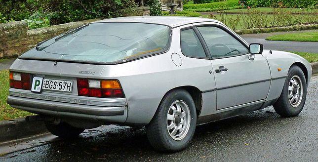 Porsche z silnikiem z dostawczaka