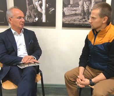 Zastępca prezesa IPN Krzysztof Szwagrzyk udzielił wywiadu Jackowi Międlarowi. Są problemy