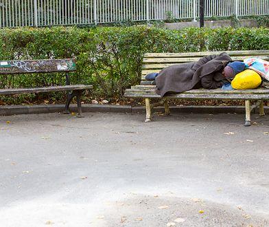 50-letni bezdomny z Polski mógł umrzeć z wychłodzenia