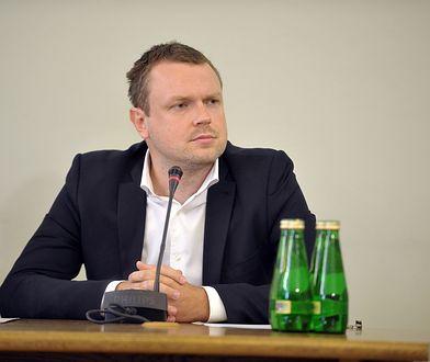 Michał Tusk przed komisją ds. Amber Gold