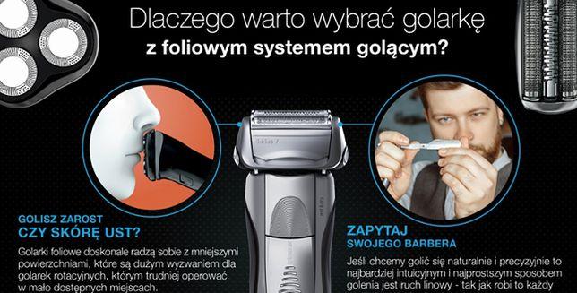 Dlaczego warto wybrać golarkę z foliowym systemem golącym?