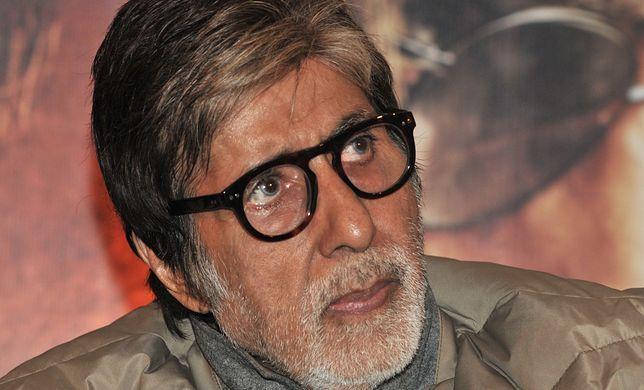Amitabh Bachchan poinformował, że jest nosicielem koronawirusa