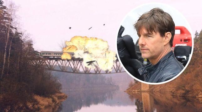 Tom Cruise nie nakręci takiej sceny na zabytkowym moście