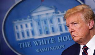 Koronawirus w USA. Donald Trump wykonał drug test na obecność wirusa.