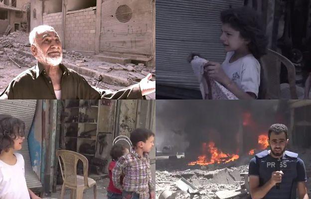 """""""Boże, już wystarczy"""". Dzieci we krwi, domy w gruzach, tak teraz wygląda Aleppo"""