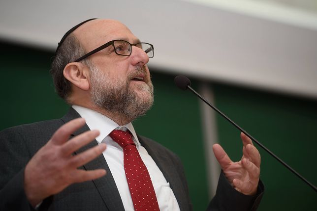 Naczelny Rabin Polski Michael Schudrich chce dalszej walki z antysemityzmem w Polsce