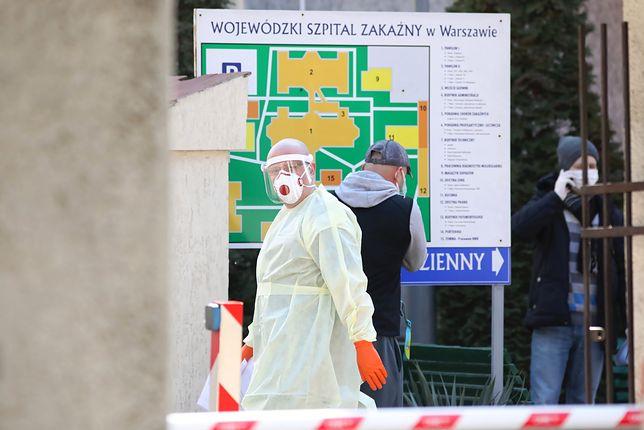 Koronawirus w Polsce. 35 nowych przypadków ogłosiło Ministerstwo Zdrowia.