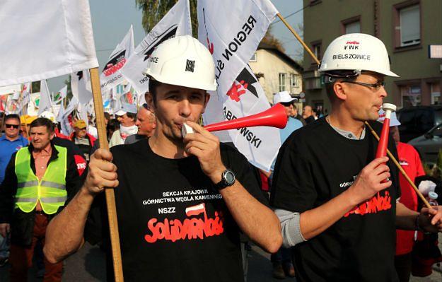 Piotr Woźniak: górnicy mogą się czuć wystawieni do wiatru