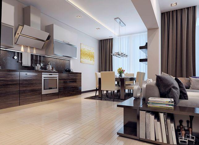 Aranżacje oświetleniowe w kuchni otwartej na salon mogą być bardzo różnorodne