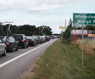 Gorąca sobota na Helu. Kolejna blokada we Władysławowie