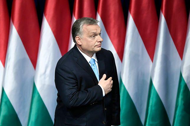 Wiktor Orban podczas dorocznego orędzia o stanie państwa