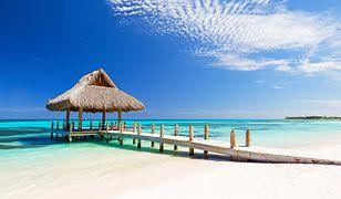 Wybrzeże Dominikany przypomina widoczek z pocztówki