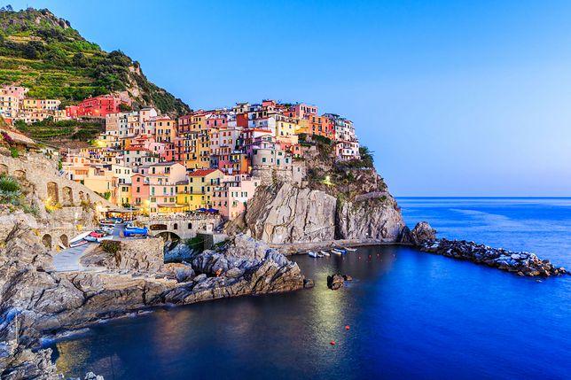 Widok na rejon Cinque Terre
