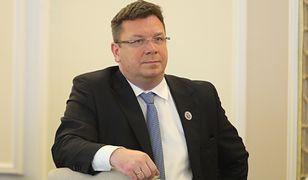 Na zdjęciu Michał Wójcik