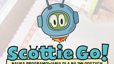 Nauka programowania dla najmłodszych z grą planszową Scottie Go!