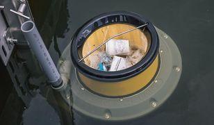Seabin zbiera pływające śmieci. To drugie takie urządzenie w Polsce