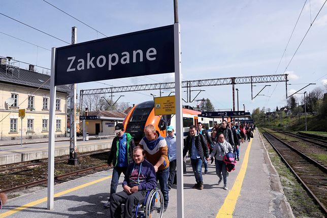 Trasa kolejowa do Zakopanego w remoncie. W góry dojedziemy autobusem