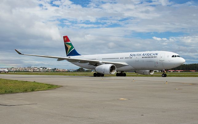 W przemyt zamieszani byli pracownicy South African Airways