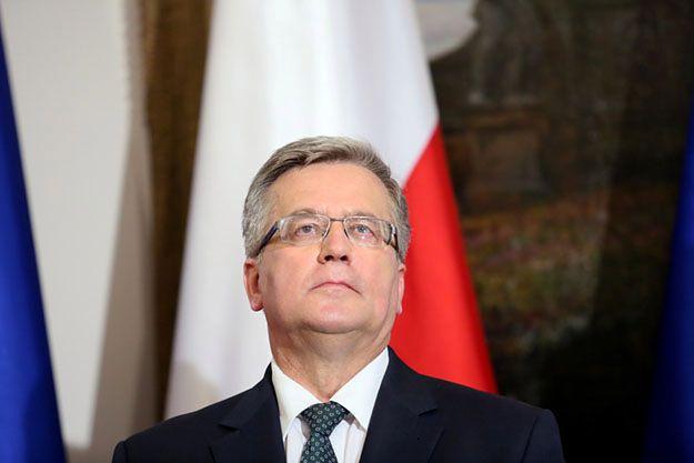 Bronisław Komorowski: myślę z przyjemnością o dniach, kiedy będę byłym prezydentem