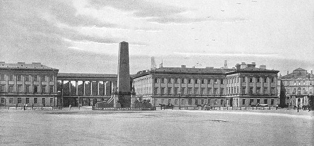 Tak kiedyś wyglądał pałac Saski w Warszawie