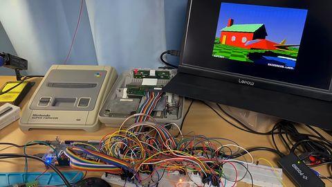 Ray tracing na SNES-ie. Zapaleniec stworzył efekt na 30-letnim sprzęcie
