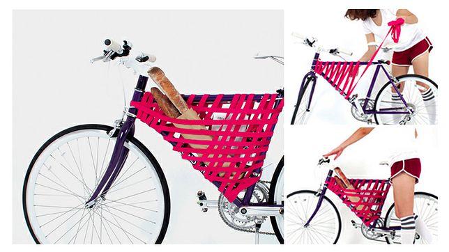Upleć sobie koszyk na rower