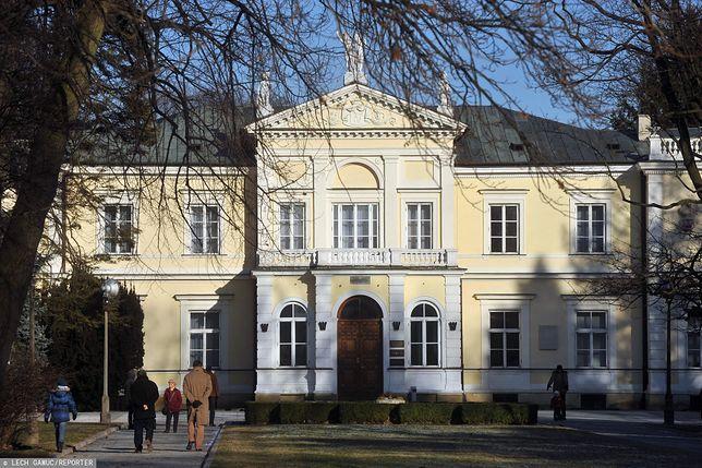 Warszawa. Szkoła Główna Gospodarstwa Wiejskiego, rektorat uczelni