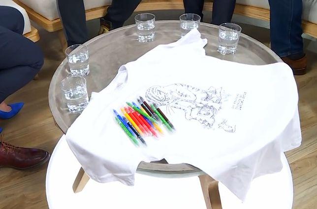 """""""Koszulki z sercem"""" - sposób, by pomóc dzieciom i zwierzętom"""