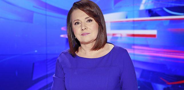 """Danuta Holecka jest jedną z twarzy """"Wiadomości"""" TVP"""