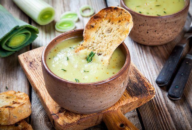 Zupa Vichyssosie - klasyczna francuska zupa krem